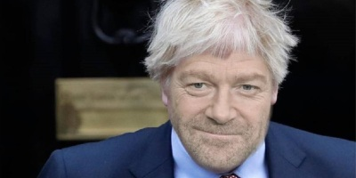 Kenneth Branagh als Boris Johnson