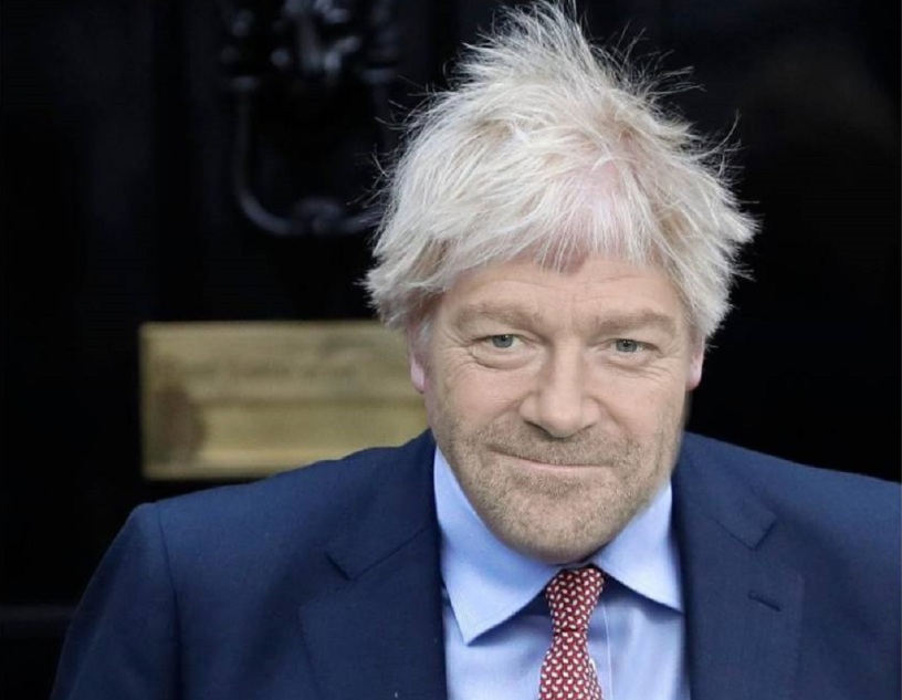 Kenneth Branagh als Boris Johnson
