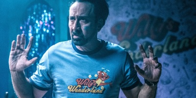Willy's Wonderland Nicolas Cage